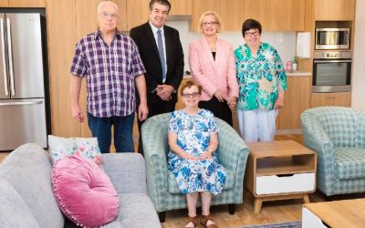 Minister for Disability opens doors for new Community Homes